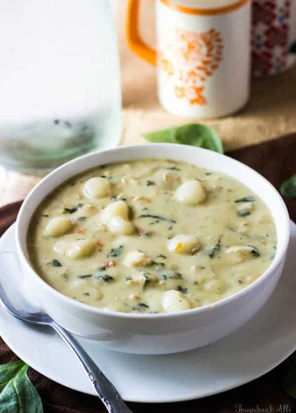 Superb Olive Garden Chicken Gnocchi Soup