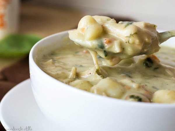Olive Garden Chicken Gnocchi Soup Tornadough Alli