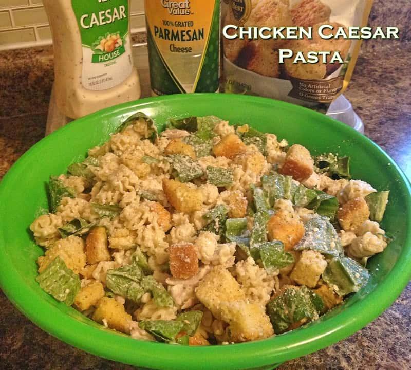 Chicken Caesar Pasta