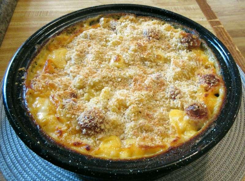 baked mac and cheese with velveeta