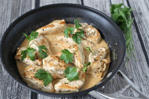 Easy-creamy-chicken