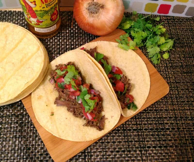 Barbacoa Taco Dinner