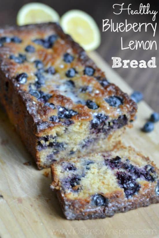 Healthy-Blueberry-Lemon-Bread