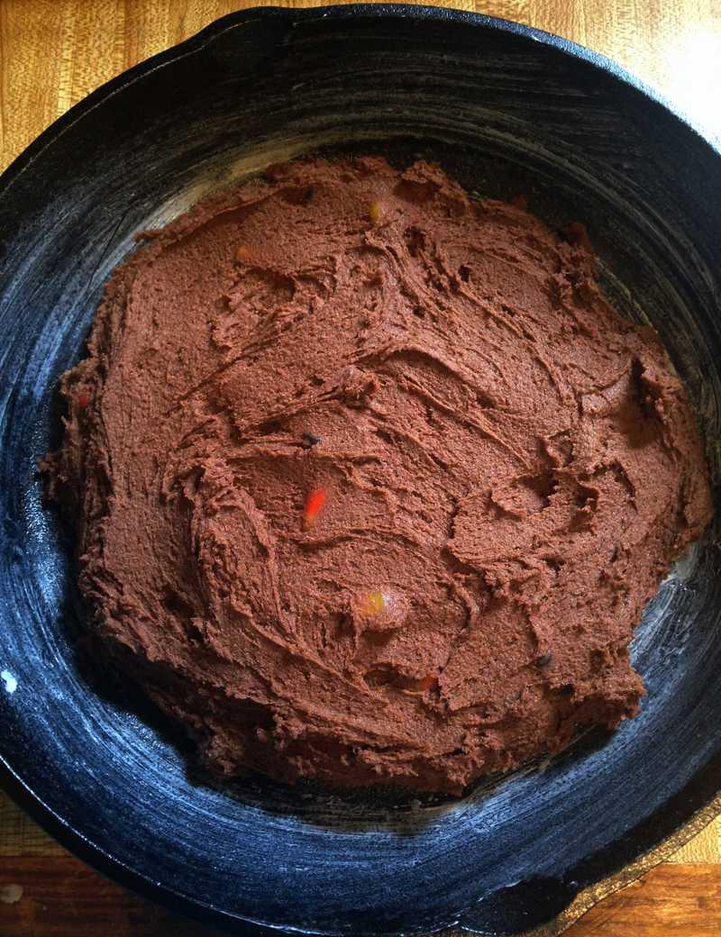 Jack Skellington Cookie Cake Skillet