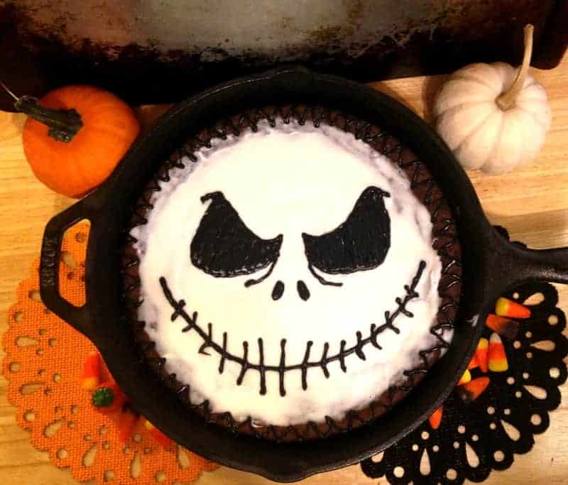 Jack Skellington Cookie Cake