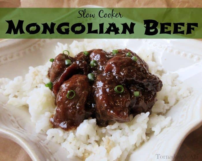 Slow Cooker Mongolian Beef - Tornadough Alli