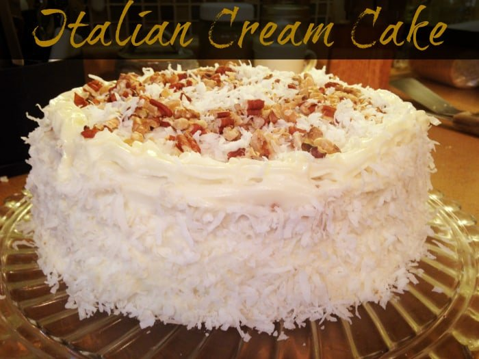 Italian Wedding Cake Easy Recipe