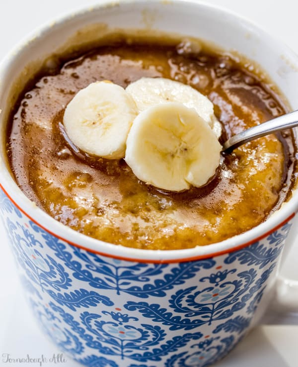Banana Mug Cake Recipe