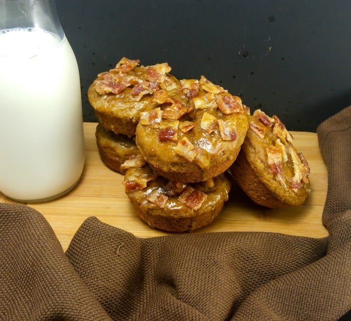 Gingerbread Maple Bacon Donuts 1