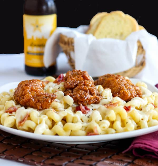 Honey Pepper Chicken Mac and Cheese3