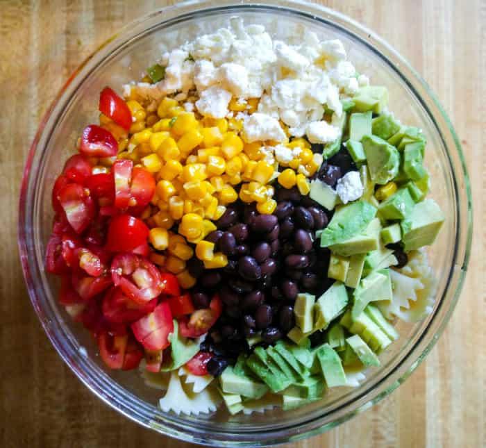 Mexicali Bowtie Salad 1
