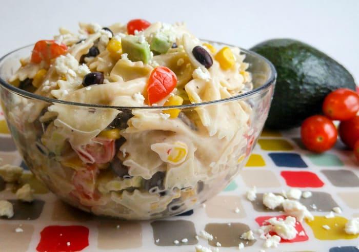 Mexicali Bowtie Salad