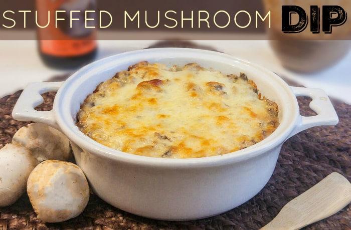 Stuffed Mushroom Dip