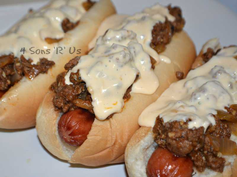 cheesy sloppy dogs 2
