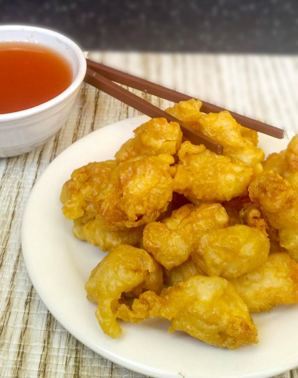 Chicken with Sweet and Sour Sauce 2