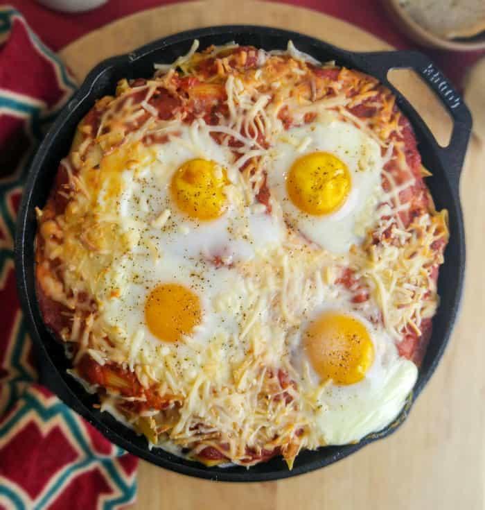 Italian Baked Egg Penne 1