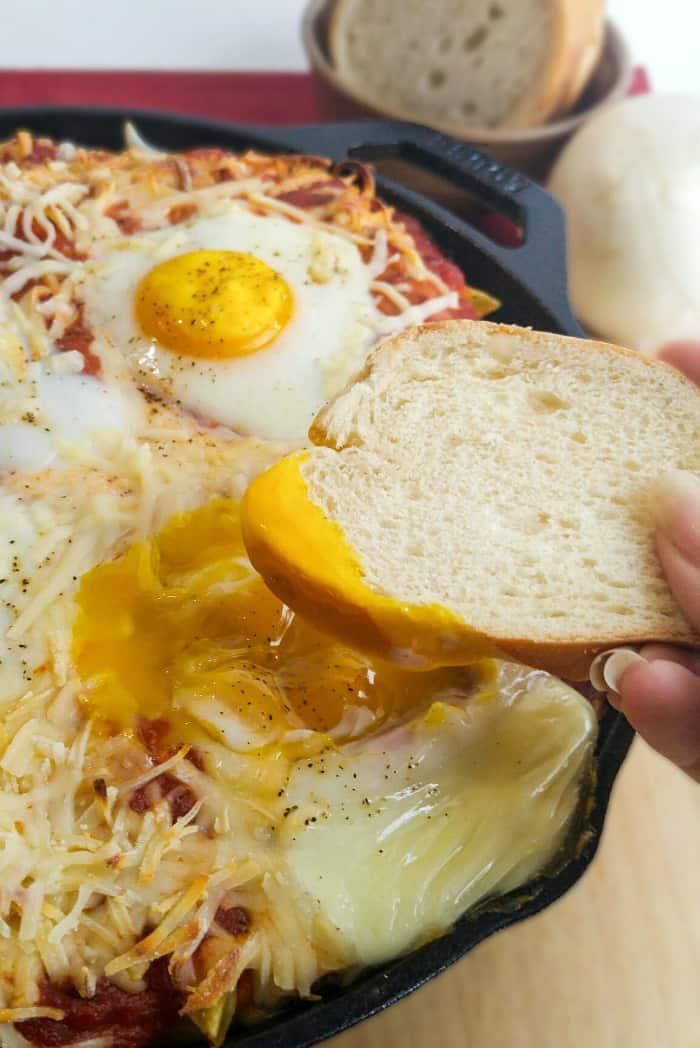 Italian Baked Egg Penne 2
