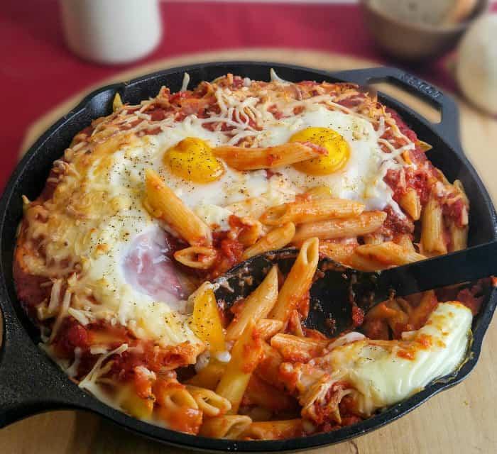 Italian Baked Egg Penne 4