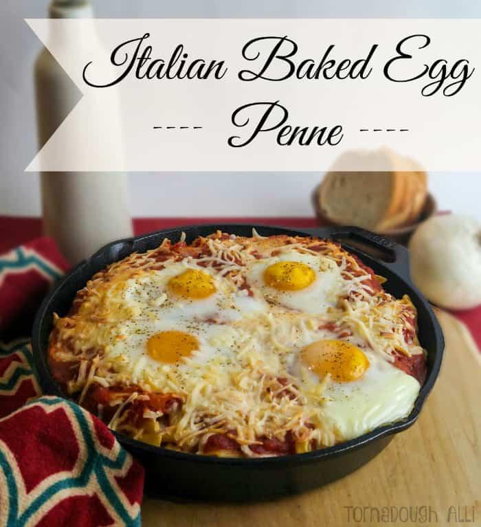 Italian Baked Egg Penne