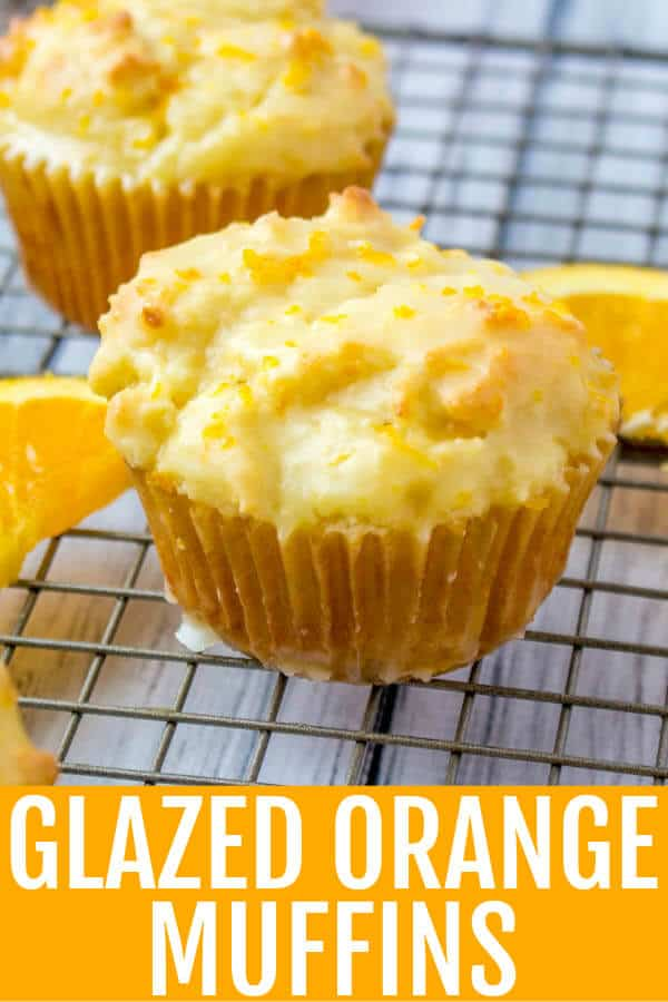 Want the perfect morning breakfast? These Glazed Orange Muffins are quick, easy and tasty, a morning treat the whole family will enjoy. #muffins #orange #quick #breakfast #tasty #zest #oranges #morning #startyourday