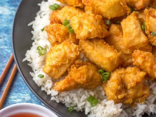 Sweet and sour chinese chicken an easy take out copycat meal forumfinder Gallery