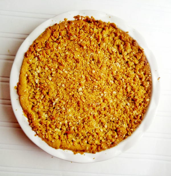 Apple Crisp with Sugar Cookie Crust 2