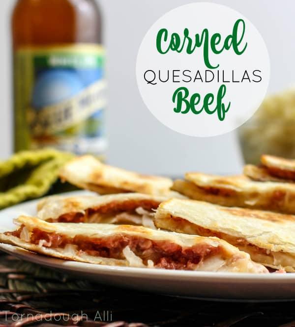 Corned Beef Quesadilla