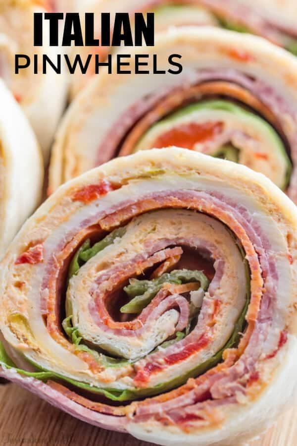 Italian Pinwheel Recipe