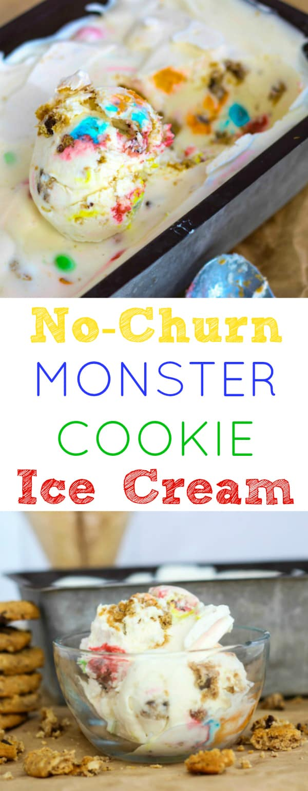 Monster Cookie Ice Cream