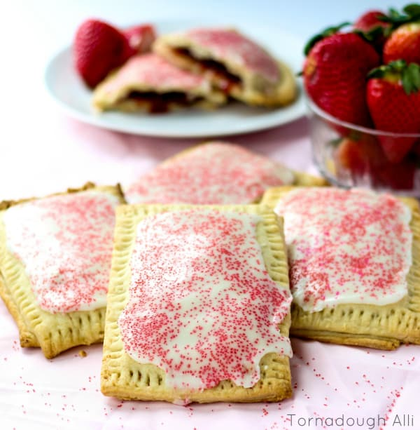 Strawberry Pop-Tarts - Tornadough Alli