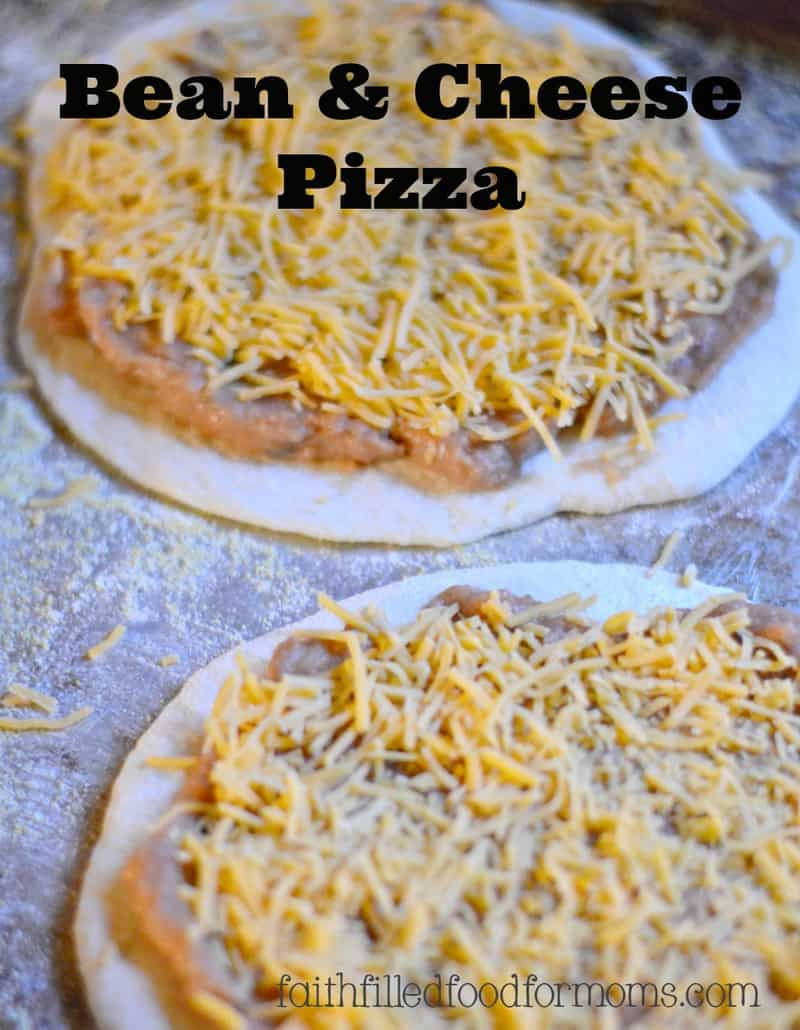 Bean-and-Cheese-Pizza