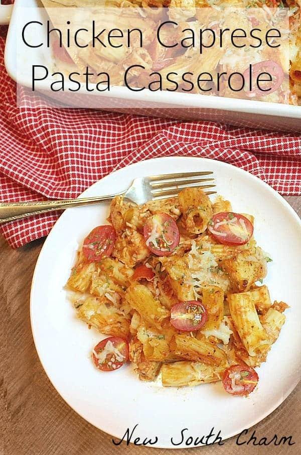 Chicken-Caprese-Pasta-Casserole