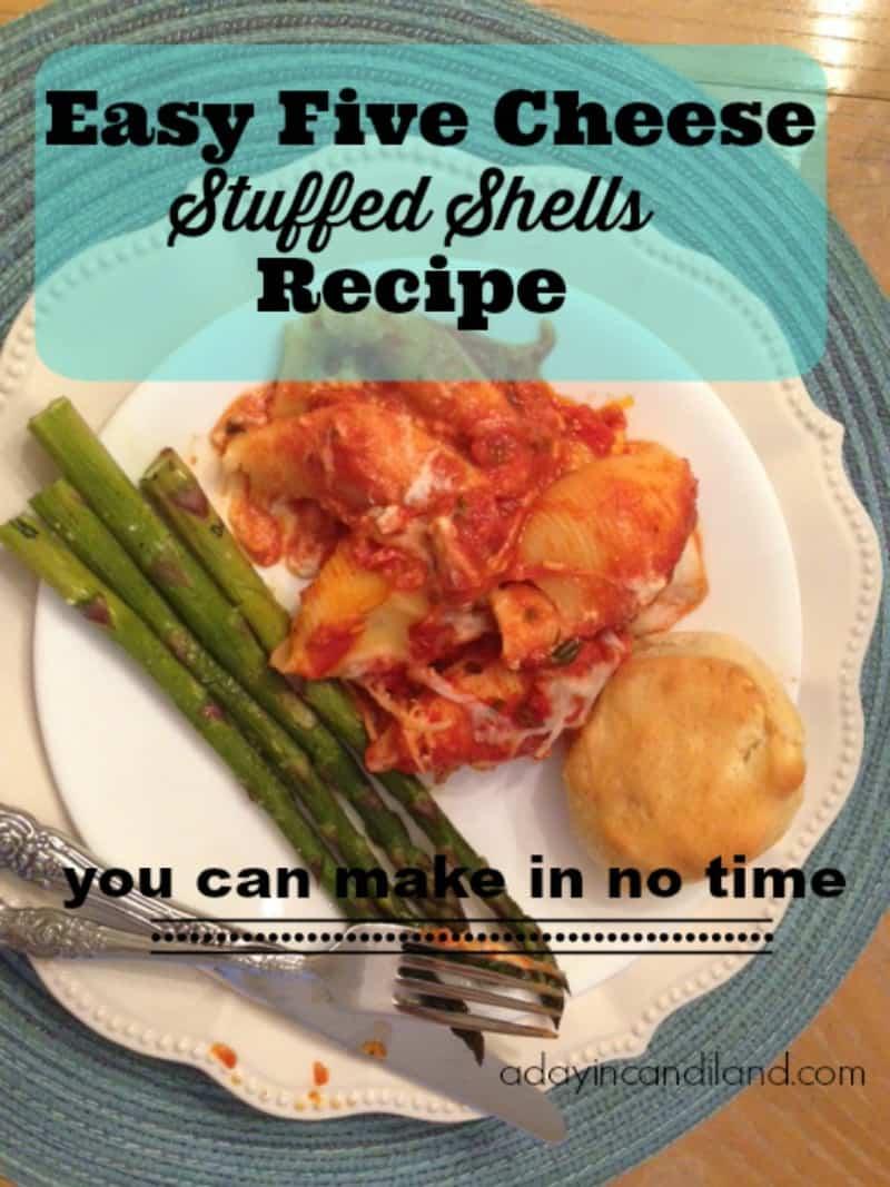 Easy-Five-Cheese-Stuffed-Shells-Recipe-