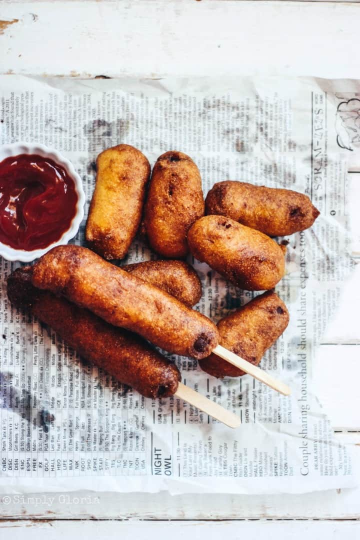 Homemade-Corn-Dogs-drenched-in-decadent-buttermilk-batter-and-fried
