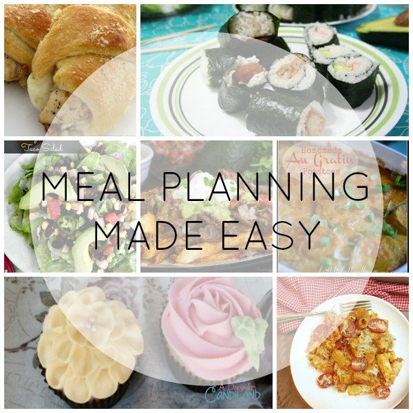 Meal Planning Made Easy Week 3
