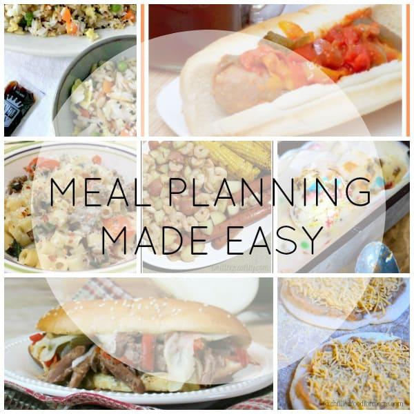 Meal Planning Made Easy Week 4