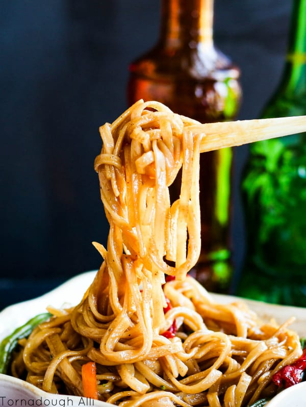 Stir Fried Mongolian Noodles2