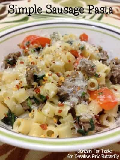 simple-sausage-pasta-easy-meal-plan
