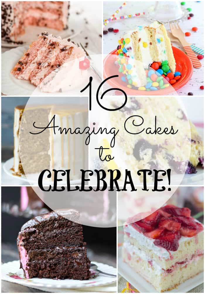 Amazing Cakes Collage