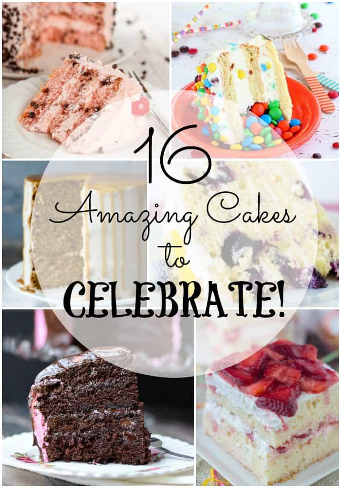 Amazing Cakes Collage