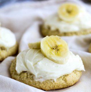 Banana Cream Lofthouse Style Cookies