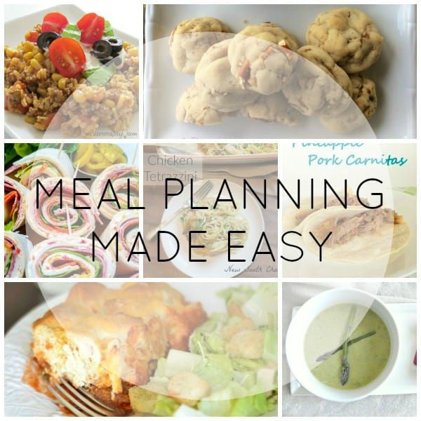 Meal Planning Made Easy Week 5