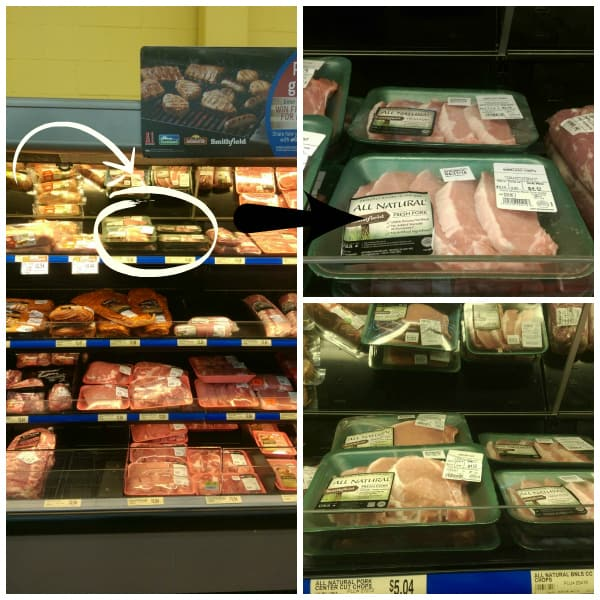 Mojo Pork Chops Collage