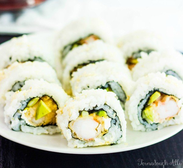 tempura shrimp roll