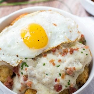 Sausage and Gravy Breakfast Poutine