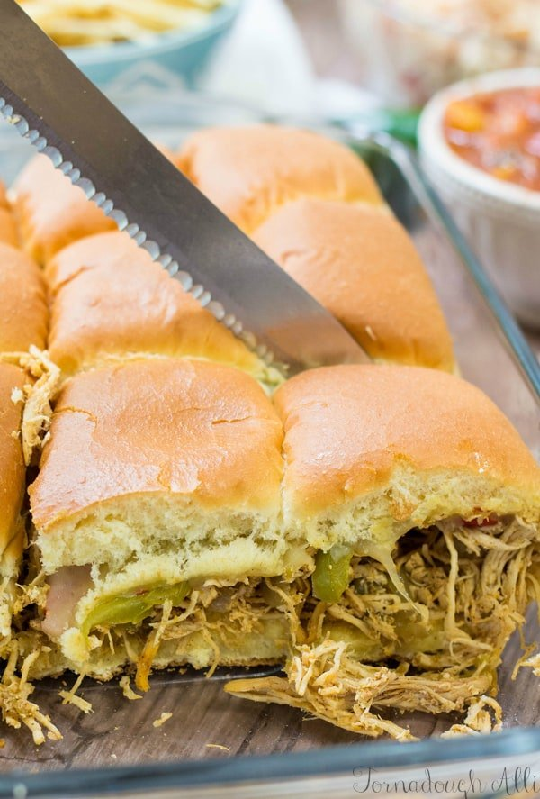 Chicken Fajita Sliders