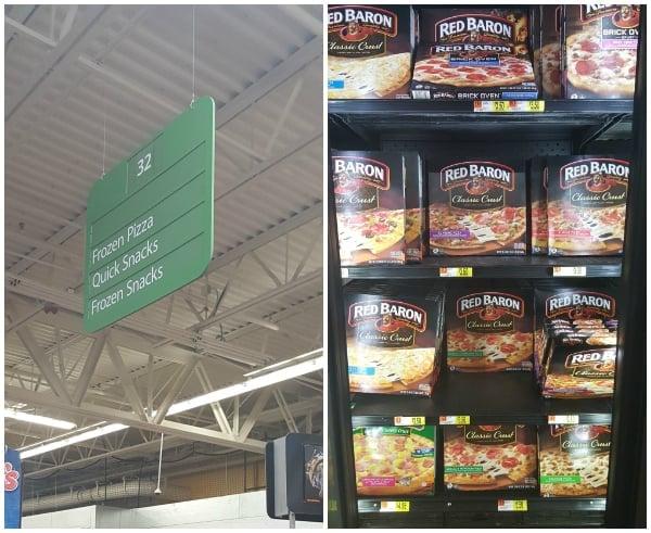 Red Baron Walmart Collage