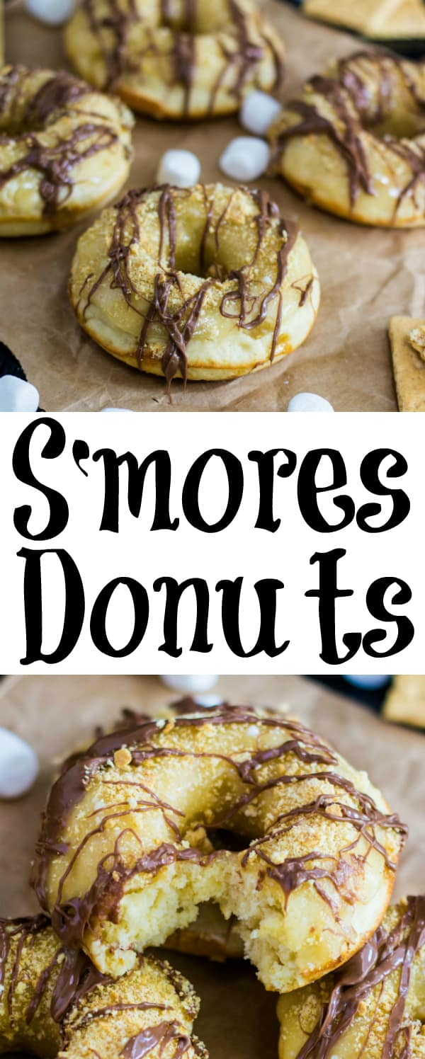 Smores Donuts Collage