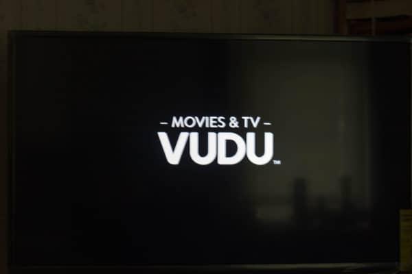 Vudu on TV screen