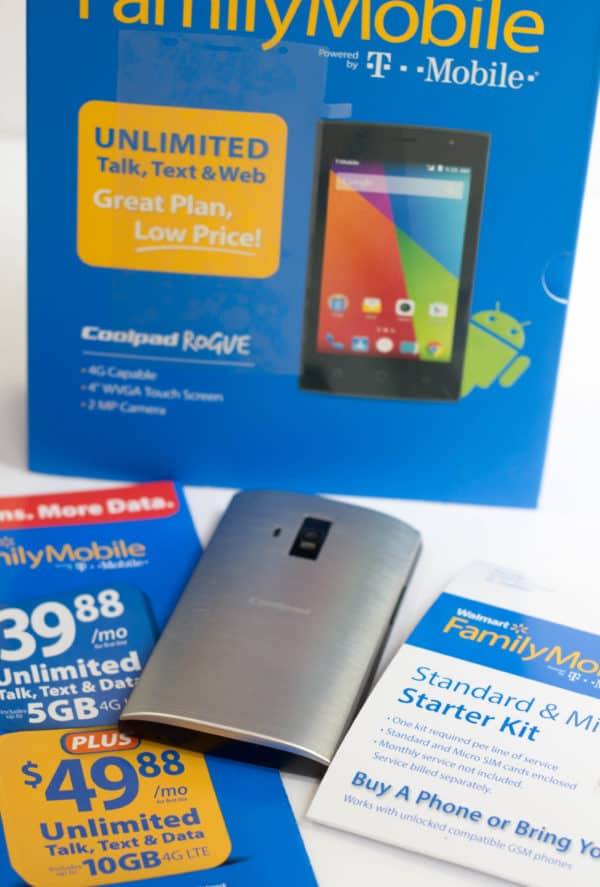 Walmart Family Mobile Package with phone
